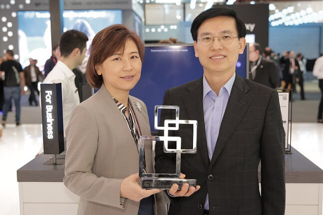Samsung SDS, the First Korean IT Service/Solution Provider to Win the Glomo Award