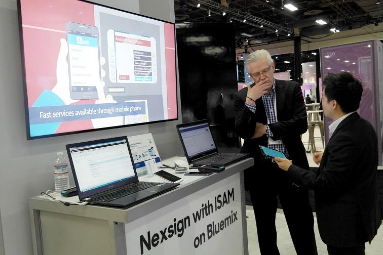 삼성SDS 생체인증 솔루션 Nexsign과 IBM 계정관리 솔루션 ISAM을 결합해 국내외 고객 공략