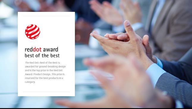 2019 Red Dot Design Award, Best Design Award