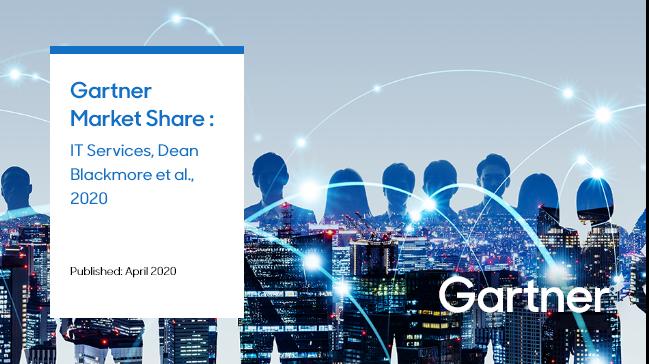 2020年4月发布的Gartner市场份额报告显示,三星SDS在全球排名第25位,在IT制造业领域排名第一