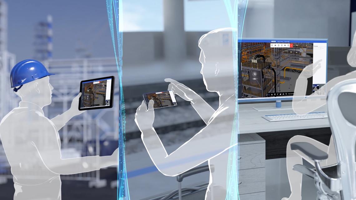 与通过平台利用异构 3D 数据相关的各种服务可彻底改变您的业务和协作环境。