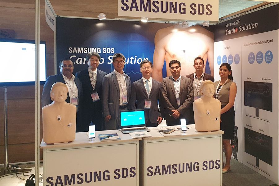 Samsung SDS India has introduced 'S-Patch Cardio' to Indian health care market