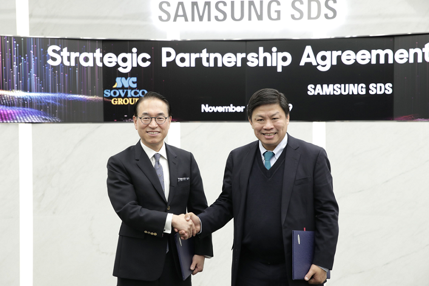 Samsung SDS to become Digital Partner of Vietnamese Sovico Group