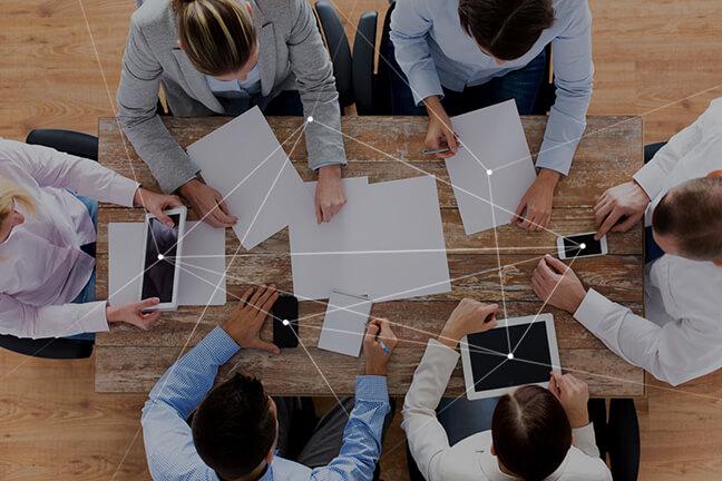 没有重复业务,可进行有效沟通
