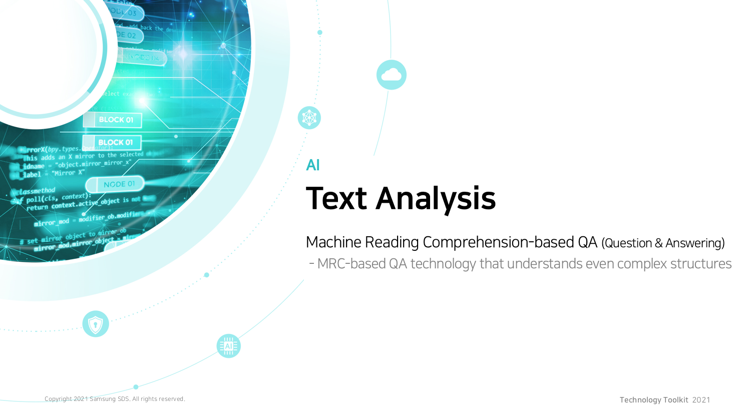 Machine Reading Comprehension-based QA