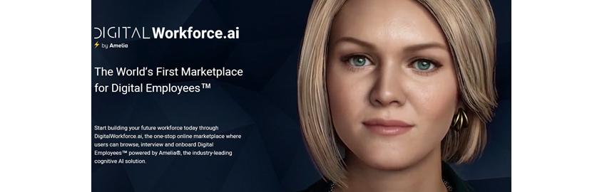 IPSoft's digital virtual assistant 'Amelia'
