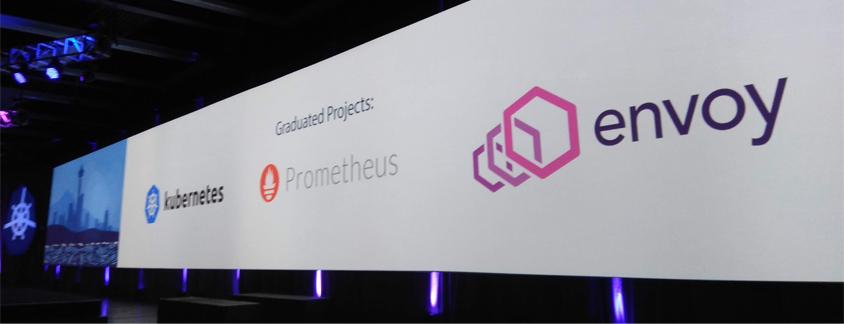 Graduated Projects : Kubernetes, Prometheus, envoy