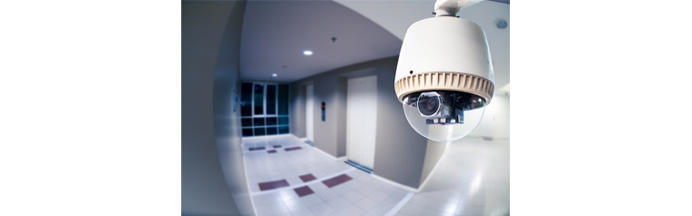 Use of CCTV Video Analysis in Crime and Security, There is a CCTV in the hallway of the building.