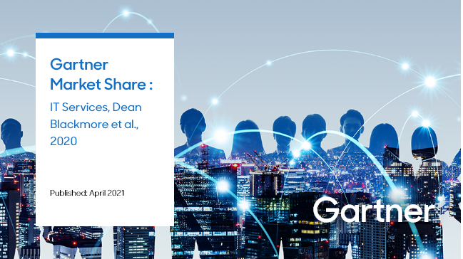 Gartner ranked Samsung SDS as the 25th in the global and No. 3 in the manufacturing IT sector in the Gartner Market Share published in April 2021.