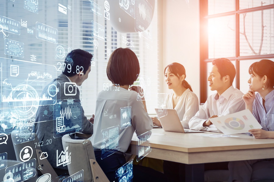How a digital enterprise is operated - HR innovation