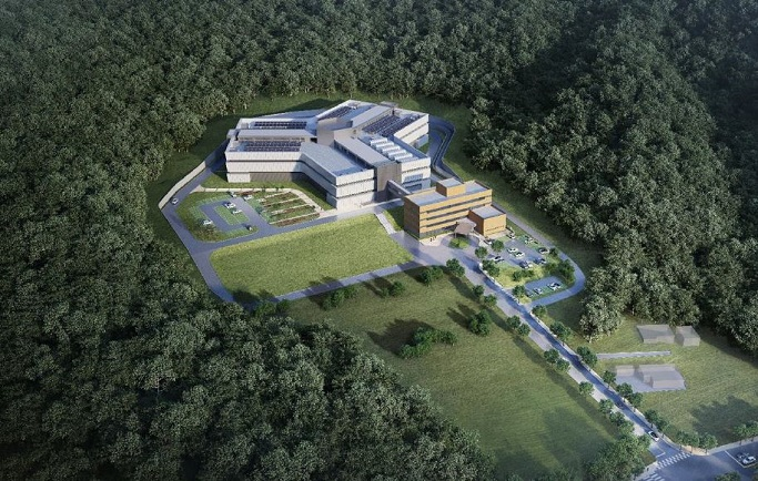 Chuncheon Data Center Bird's-Eye View