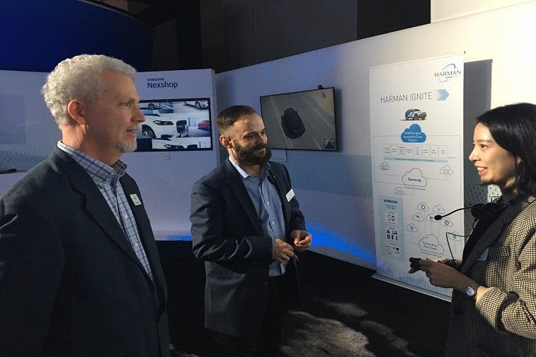 2018 CES Conference, Samsung SDS