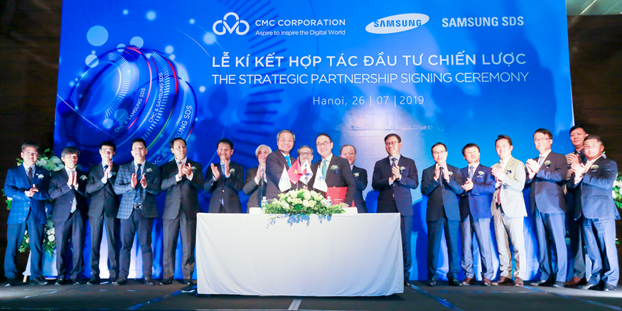 Samsung SDS to become the largest shareholder of CMC