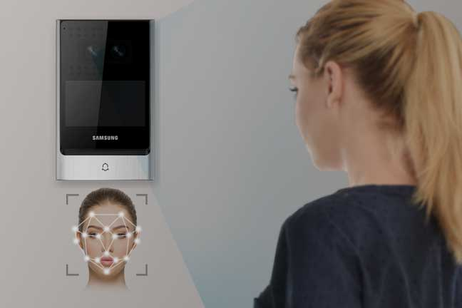 Access control with face recognition