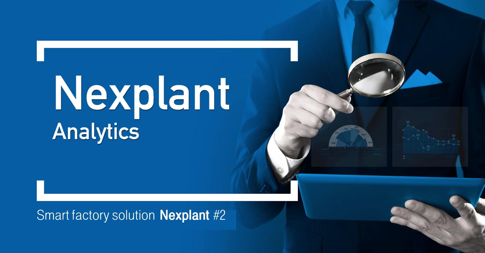 Nexplant Analytics Smart factory solution Nexplant #2