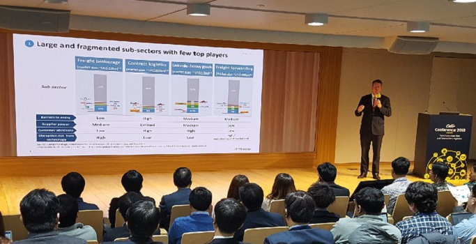 """J.P Morgan Kerwin Clayton's keynote presentation on """"Key Themes and Opportunities in Logistics Today"""""""