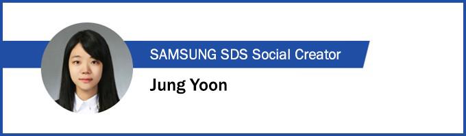 Samsung SDS Social Creator, jung_yoon