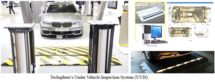 Techsphere's Under Vehicle Inspection System(UVIS)