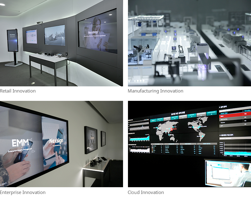 Executive Briefing Center (EBC) - Engage In An Interactive Digital Experience