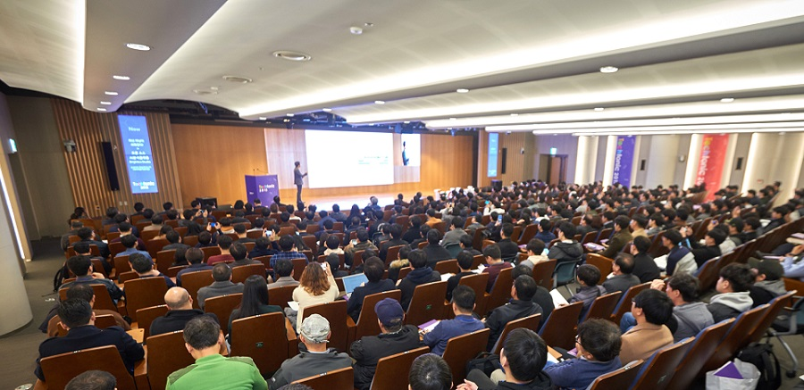 The First Samsung SDS Techtonic 2018, Marking the New Beginning of Samsung SDS, Promoting its Status as a Technology Leader