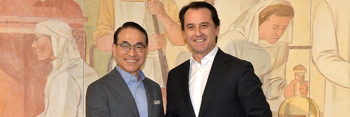 Samsung SDS Celebrates Partnership with Glintt