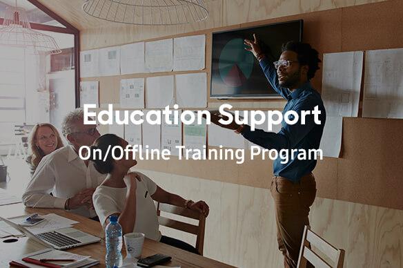 Educational support On/Offline Training Program