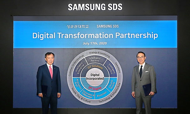 Samsung SDS and Sungkyunkwan University signs industry-academia agreement for digital transformation