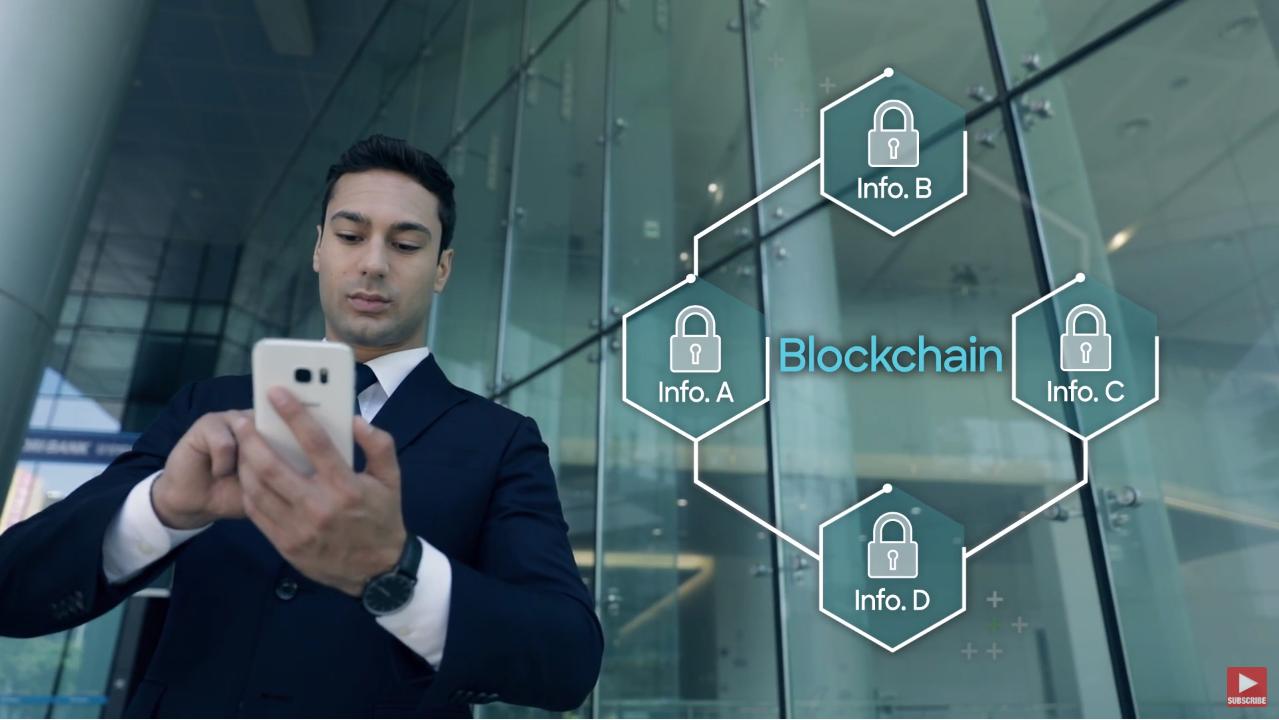 How blockchain is changing finance - Samsung SDS Nexfinance