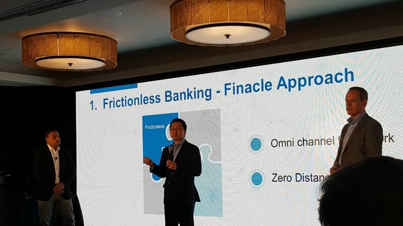 Presenting strong points of Samsung Nexsign in the banking business.