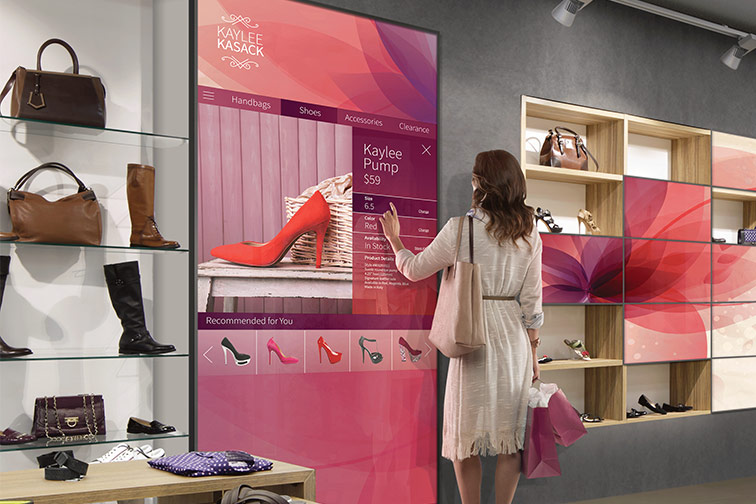Nexshop Digital Experience - Woman