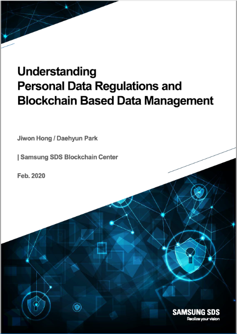 Understanding Personal Data Regulations and Blockchain Based Data Management