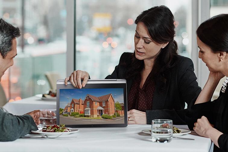 Nexshop Marketing Estate Agency Solution powered by REAPIT