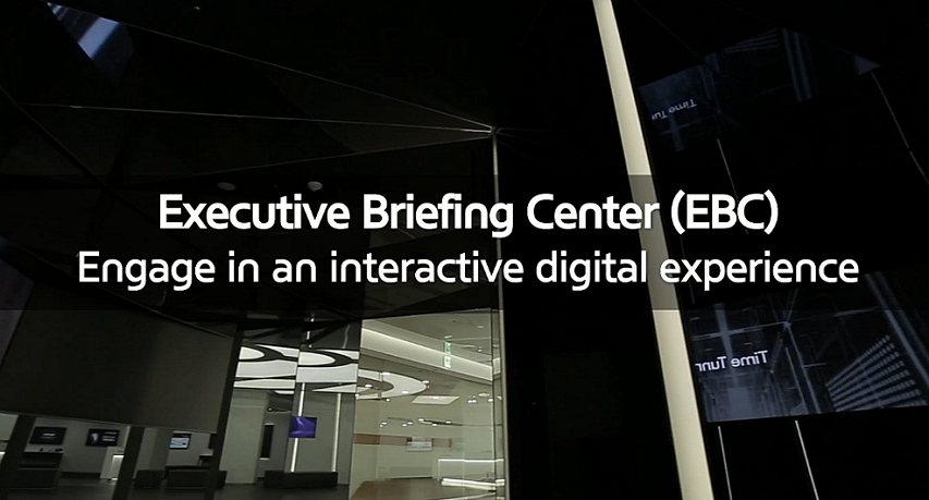 Experience our innovative solutions at a Samsung SDS EBC.