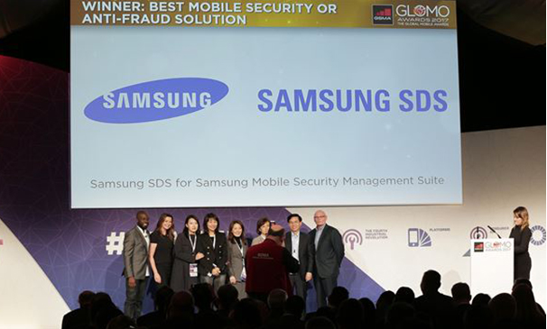 Samsung SDS recognized at GLOMO AWARDS 2017