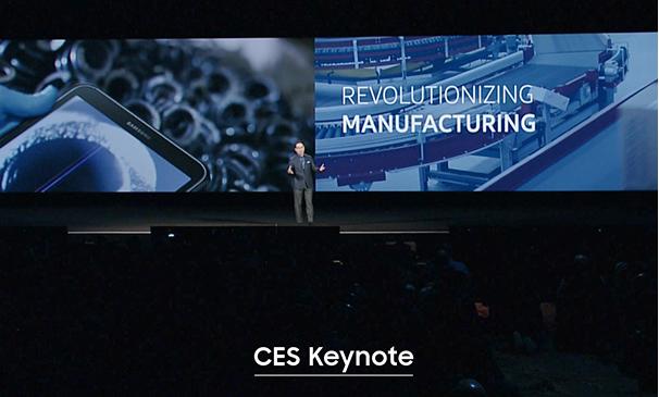 CES 2016 Keynote Speech
