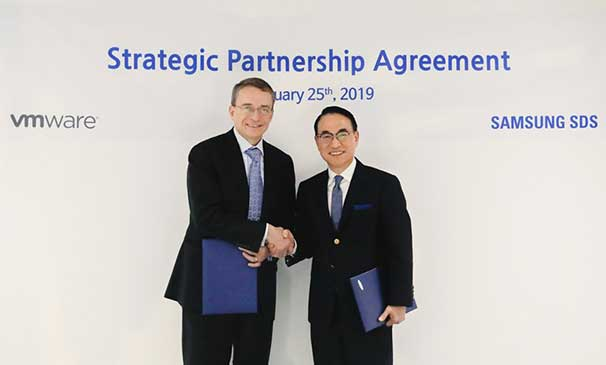 Samsung SDS-VMware sign strategic partnership