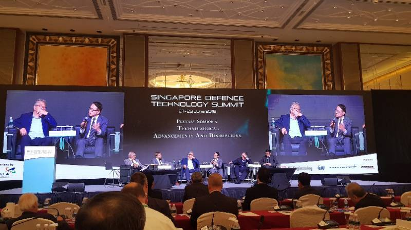 Discussants at the Singapore National Technology Summit