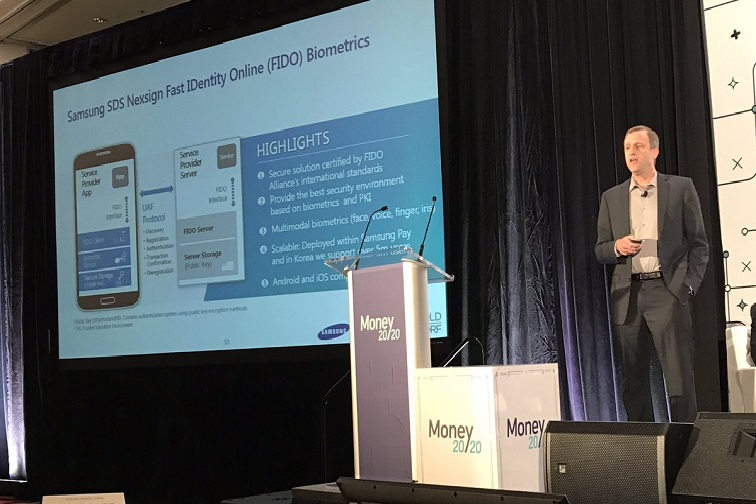 Samsung SDS Showcases Biometric Authentication Technologies at Money 20/20 2017