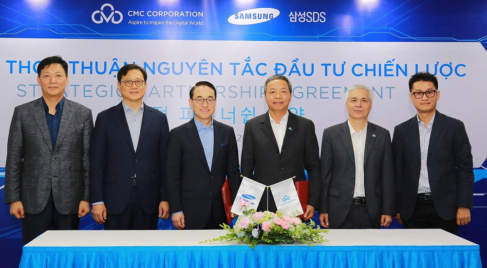 Samsung SDS expands global business through strategic investment in Vietnamese IT Services Company