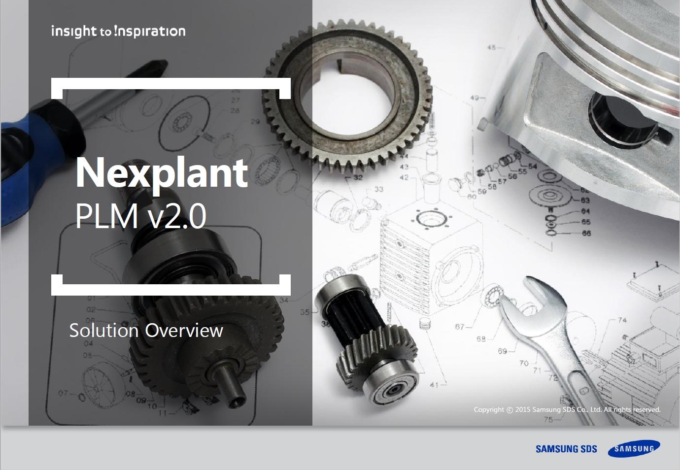 [Nexplant PLM] Integrate and streamline product development processes