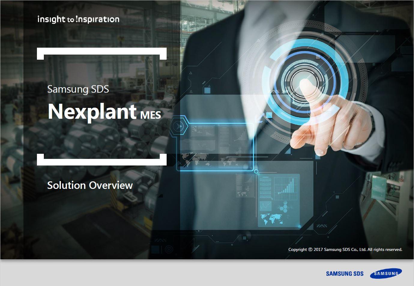 [Nexplant MES] Optimize your entire manufacturing process