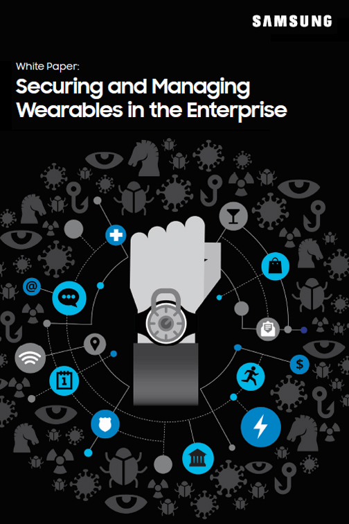 Securing and managing wearables in the enterprise