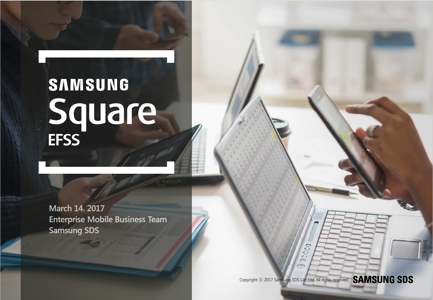 Square EFSS streamlines your workflow