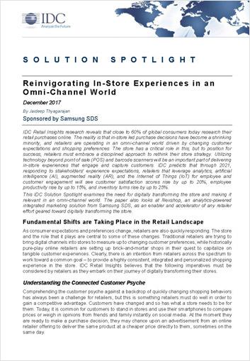 IDC-whitepaper-Reinvigorate in-store experiences in an Omni-channel world-SamsungNexshop