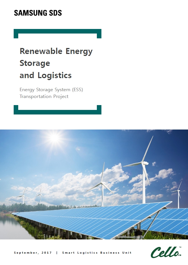 Renewable Energy Storage and Logistics