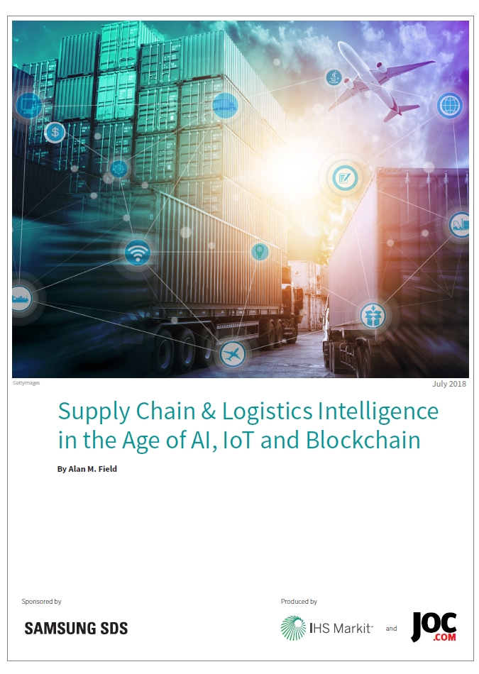 IHS Report - Supply Chain & Logistics Intelligence in the Age of AI, IoT and Blockchain