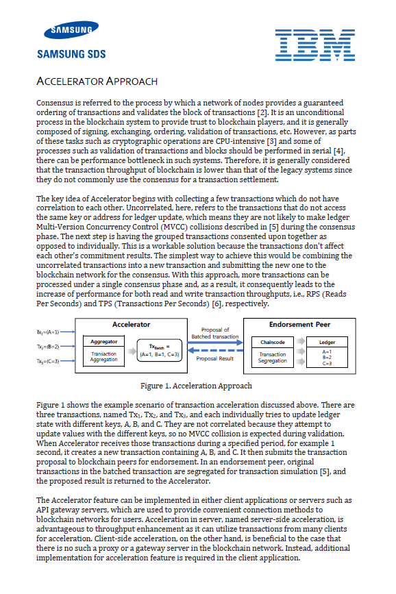 Nexledger Accelerator Core Technology White Paper