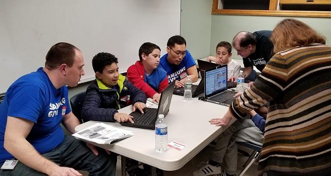 SDSA, teaching children to code