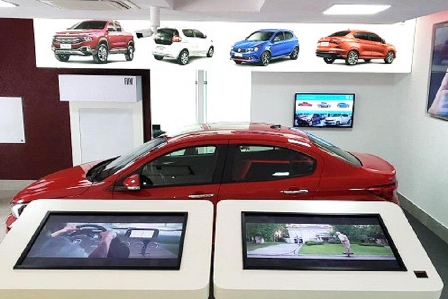 Samsung Nexshop Deployed at FCA Showrooms in Brazil