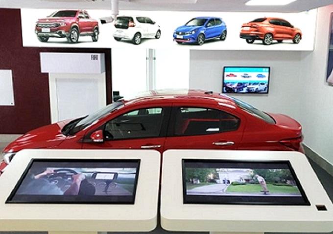 Samsung Nexshop Deployed at FCA Showrooms in Brazil